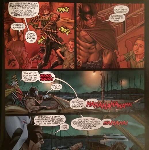 Thank You Mr. Batman - Nicola Scott - Secret Six