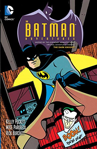 Batman Adventures Young Reader Recommendation