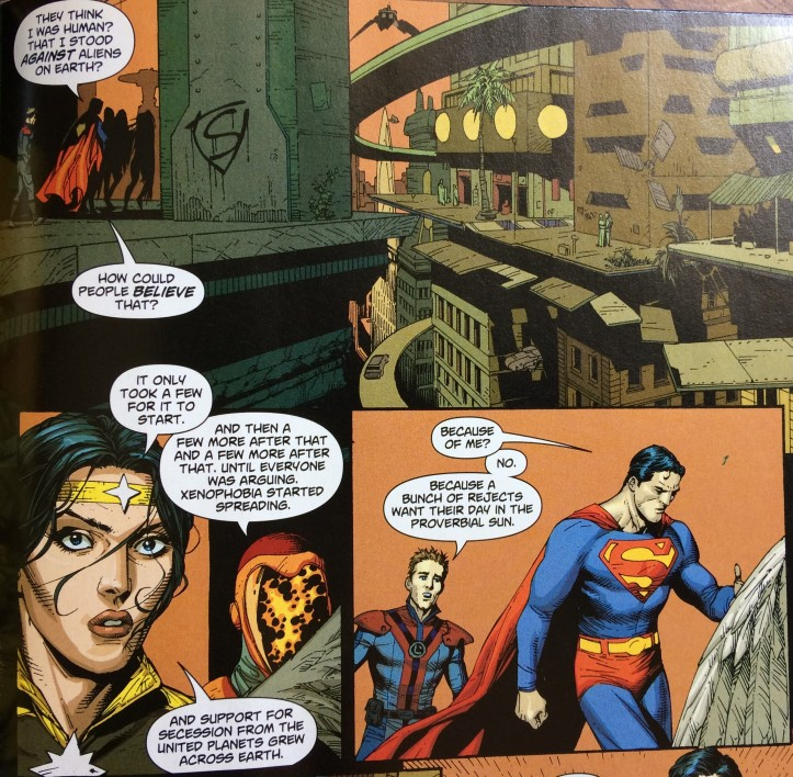 Superman and the Legion of Super-Heroes - Xenophobia and Entitlement