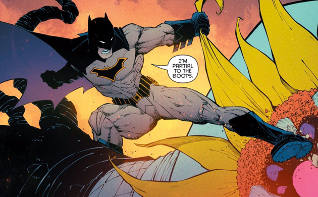 Batman's Purple Cape - Matt Reads Comics