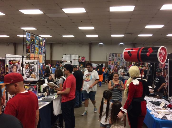 Matt Reads Comics - California Republic Comic Con