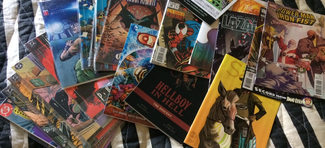 Matt Reads Comics - Convention Purchases
