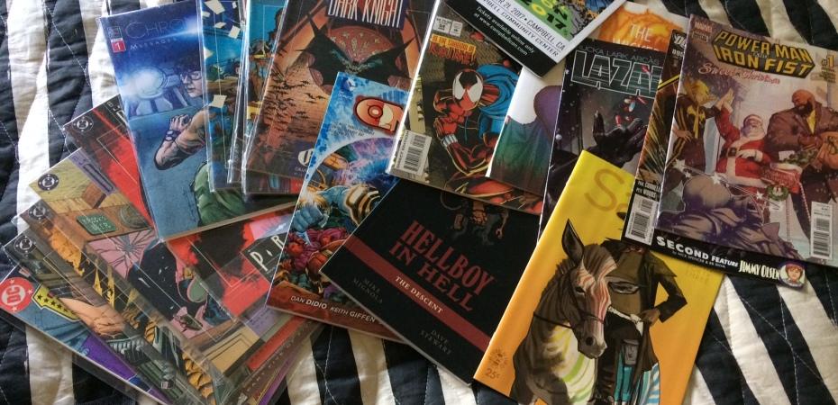 Matt Reads Comics - Convention Purchases