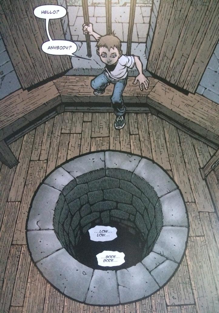 Bode Discovers Dodge - Locke and Key Vol. 1 - Matt Reads Comics