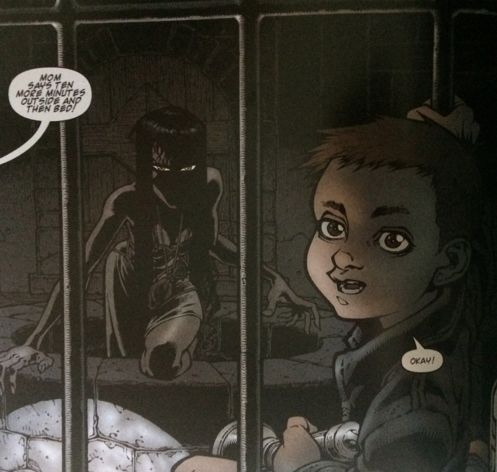 Dodge Emerges - Locke and Key Vol. 1 - Matt Reads Comics