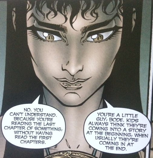 Dodge Lays It Out for Bode - Locke and Key Vol. 1 - Matt Reads Comics