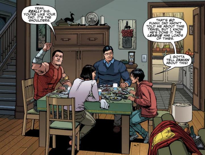Jon Hearts Damian - Matt Reads Comics