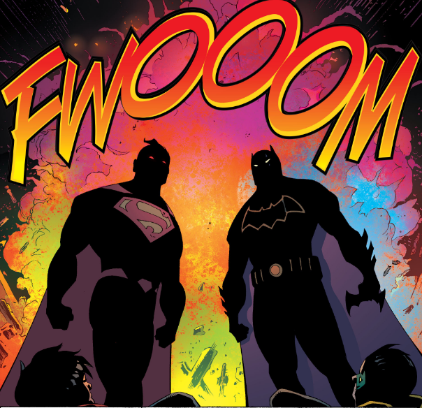 Cool Heroes Don't Look at Psychedelic Explosions - Matt Reads Comics