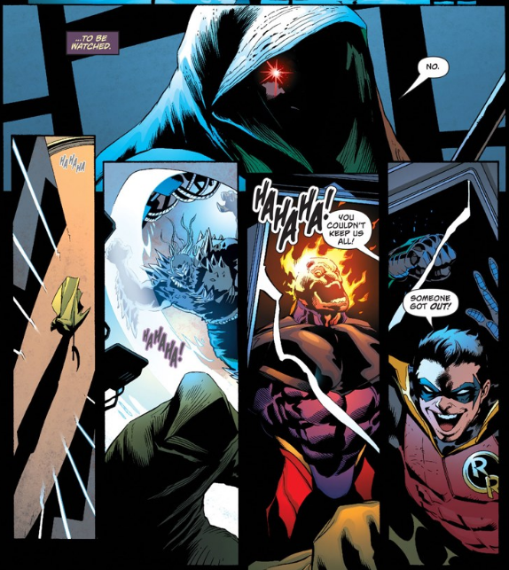 Tim Drake Taunts Mr. Oz - Matt Reads Comics