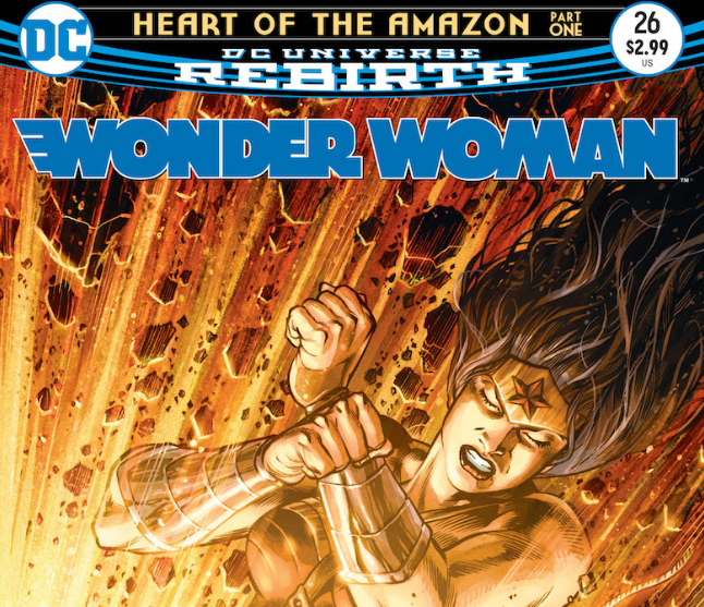 Wonder Woman Cover Blurb - Matt Reads Comics