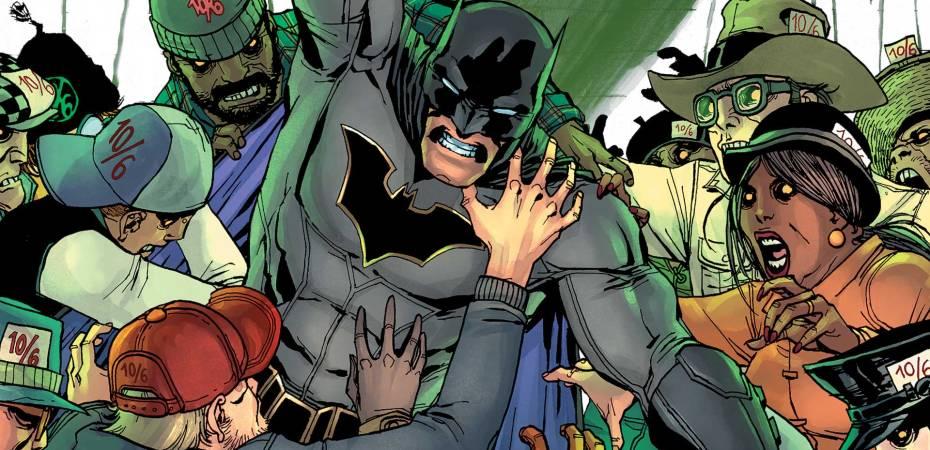 It's a Mad World We Letter In - All Star Batman 8 - Matt Reads Comics