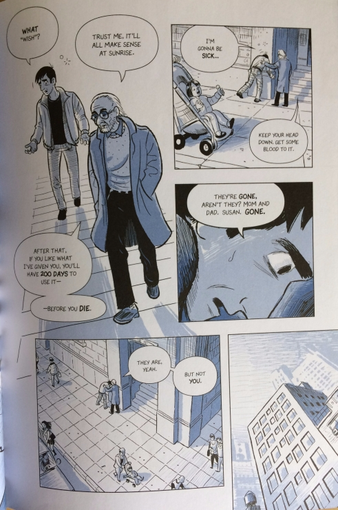 Lines and Pacing in The Sculptor - Matt Reads Comics