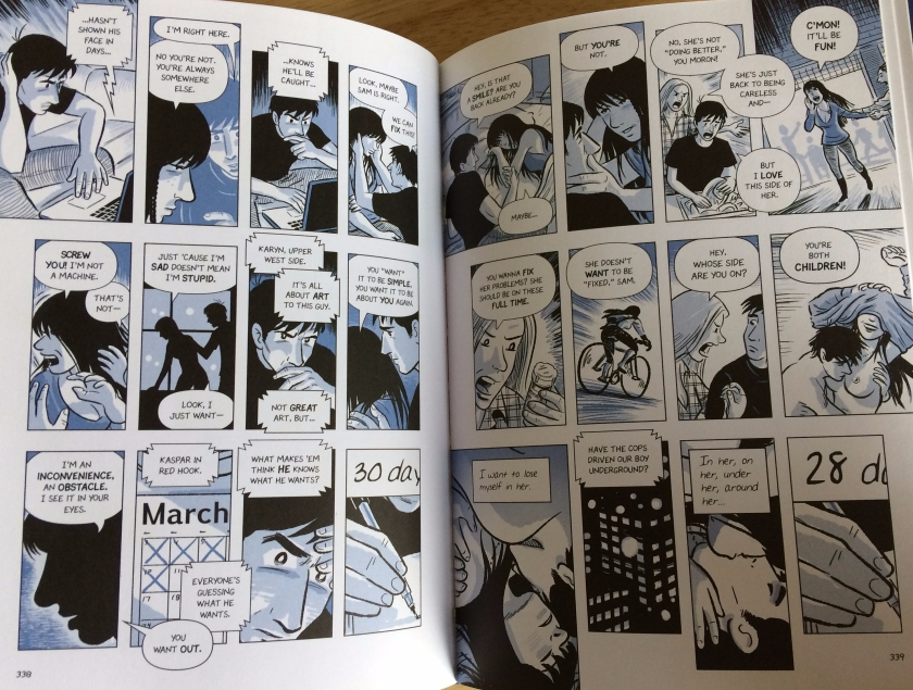 Time Passes - Scott McCloud's The Sculptor - Matt Reads Comics