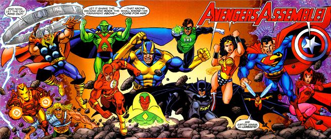 JLA/Avengers - Matt Reads Comics