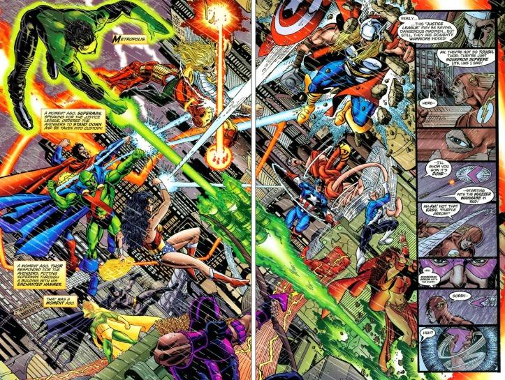 Justice League Avengers Battle - JLA/Avengers - Matt Reads Comics