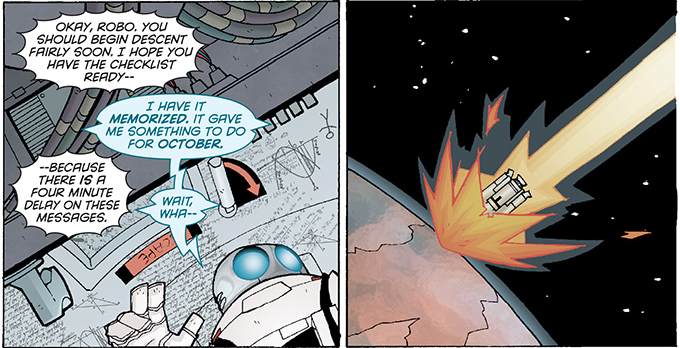 Wait, Wha - Atomic Robo of Mars - Matt Reads Comics