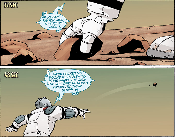 He Got Fightin' Mad, This Robo Lad - Atomic Robo of Mars - Matt Reads Comics