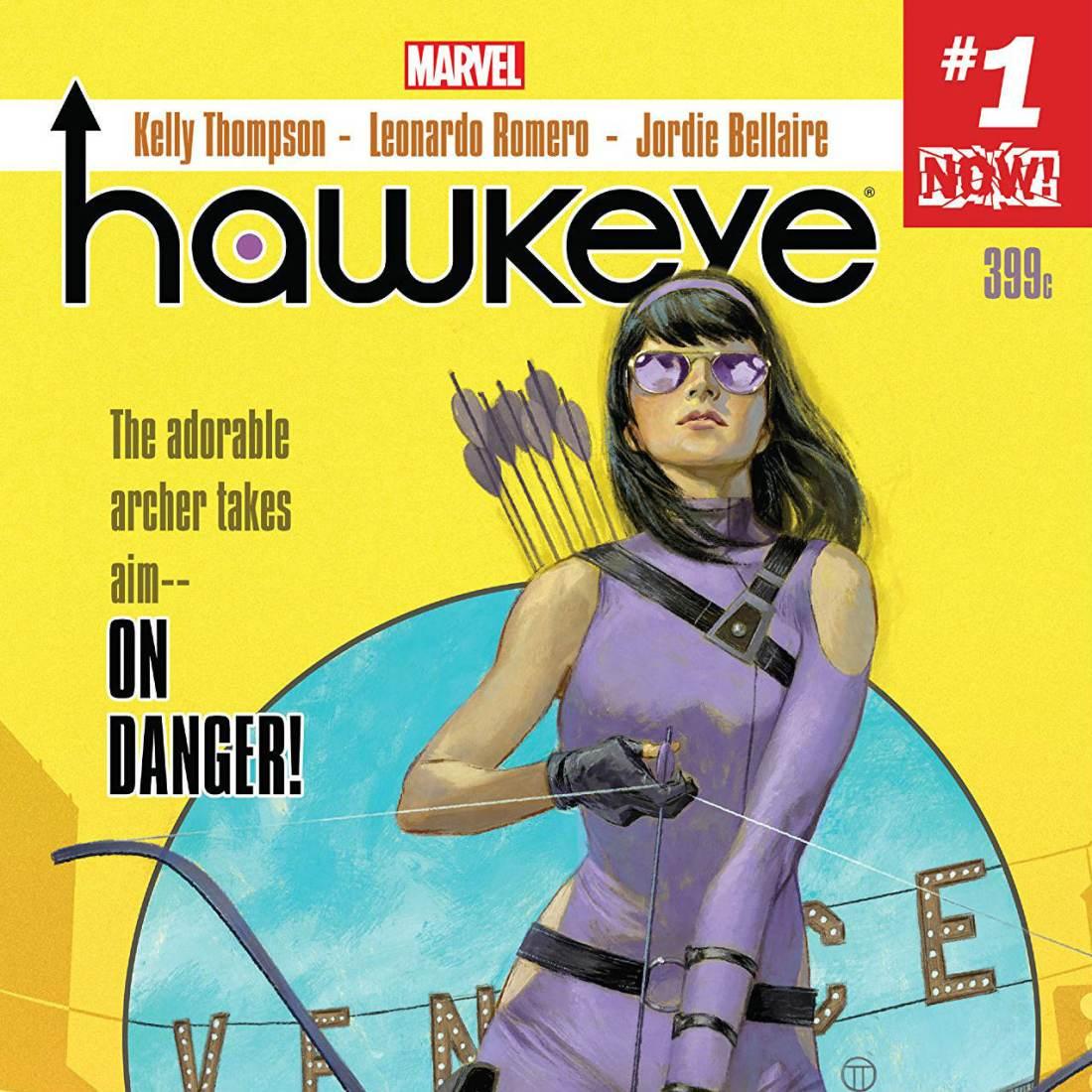 Hawkeye Kate Bishop Millennial Superhero - Matt Reads Comics