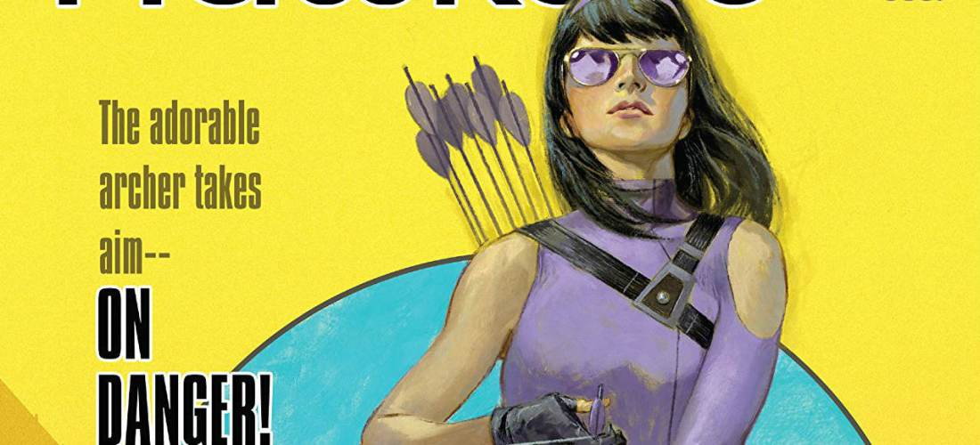 Hawkeye Kate Bishop Millennial Superhero - Matt Reads Comics