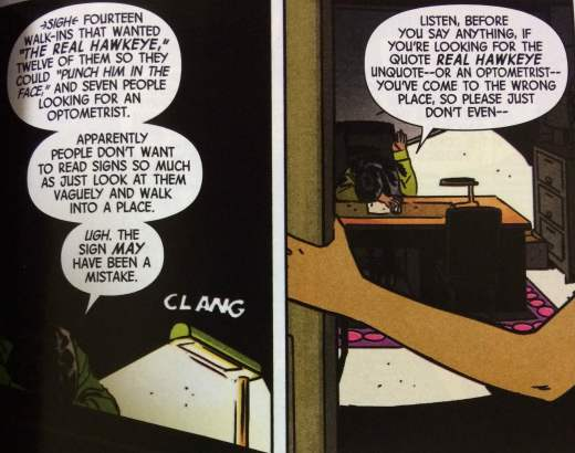 If Youre Looking for the Real Hawkeye Dont Even - Matt Reads Comics