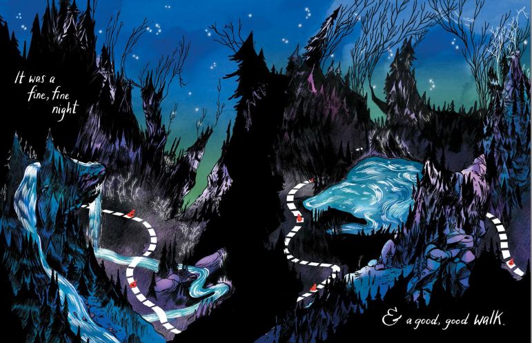 Emily Carroll Through the Woods Wide Shot - Matt Reads Comics