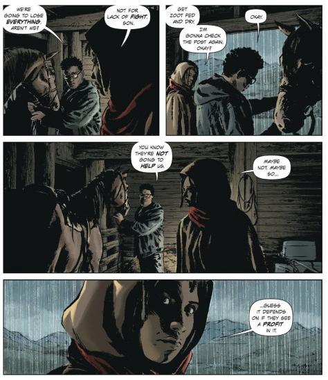Lazarus If They See a Profit In It - Matt Reads Comics