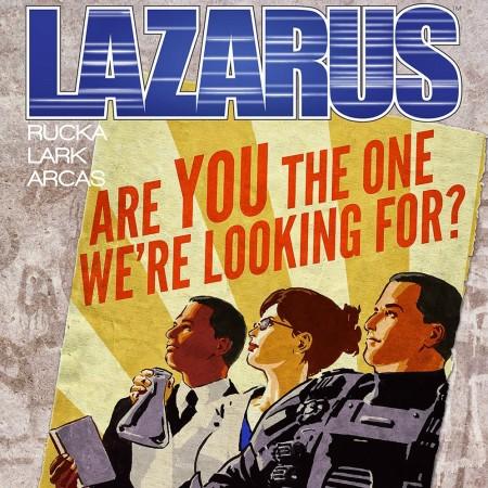 Lazarus Issue 8 Cover Banner - Matt Reads Comics