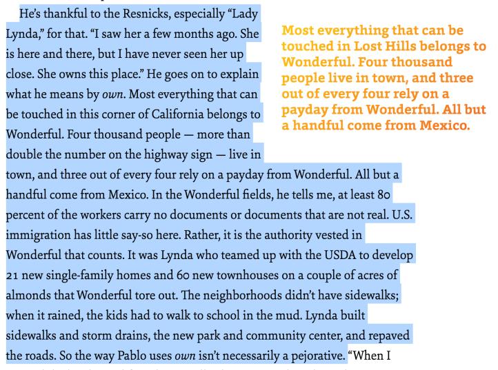 Resnick Family Controls the Region Lazarus Almonds - Matt Reads Comics