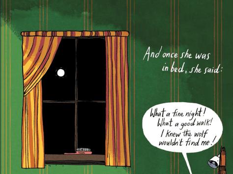 The Moon Emily Carroll Through the Woods - Matt Reads Comics