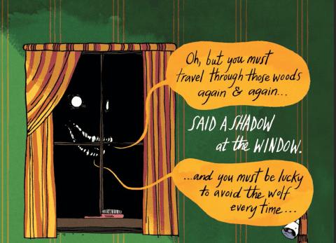 The Wolf Emily Carroll Through the Woods - Matt Reads Comics