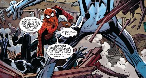 I Guess We Haven't Done White Yet Spider-Man New Ways to Die - Matt Reads Comics