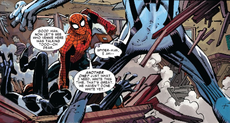I Guess We Haven't Done White Yet Spider-Man New Ways to Die - Matt Reads Comics