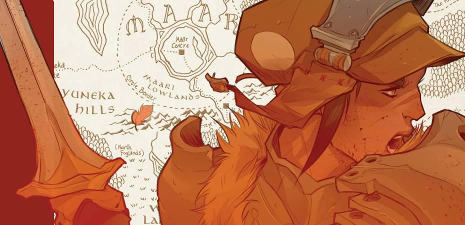 Isola 1 Cover - Matt Reads Comics