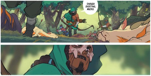 Isola Character Designs - Matt Reads Comics