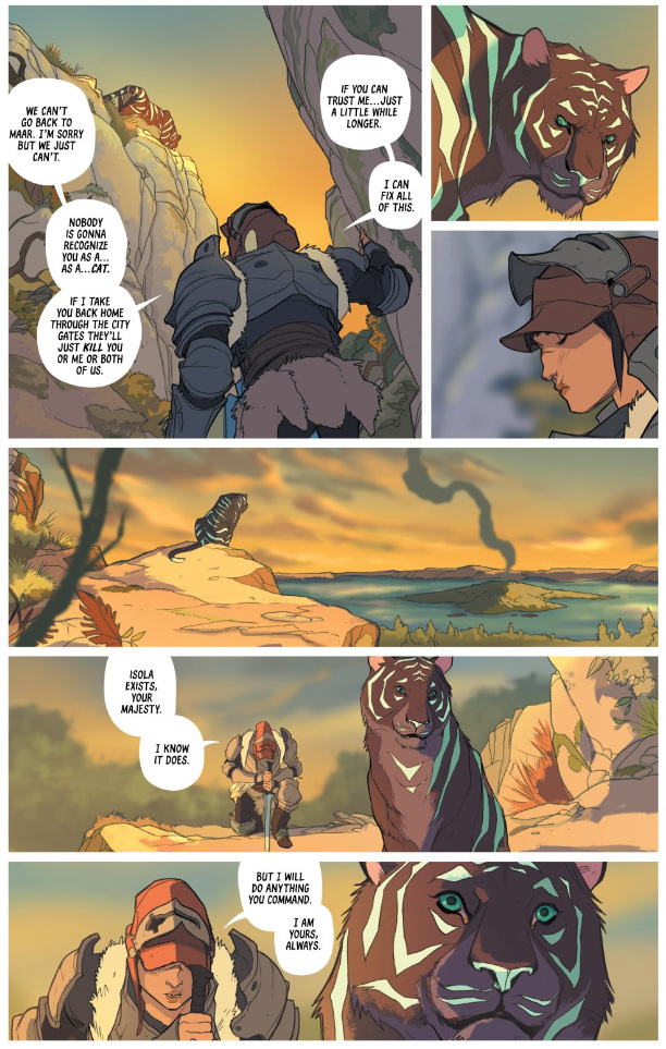 Isola Tiger Queen - Matt Reads Comics