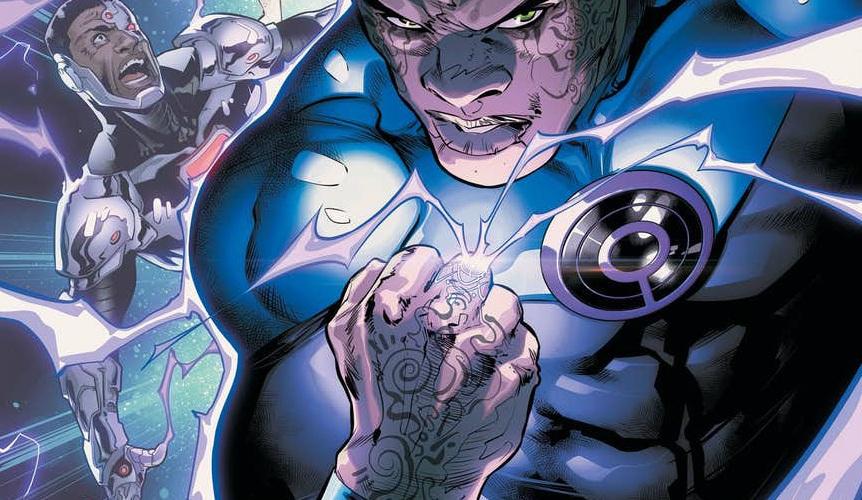 John Stewart Ultraviolet Lantern - Matt Reads Comics