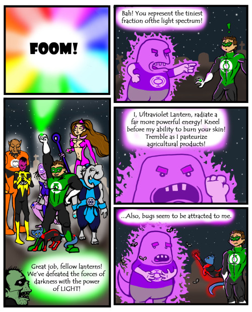 Ultraviolet Lantern - Kat Prince - Kioquinos - Matt Reads Comics