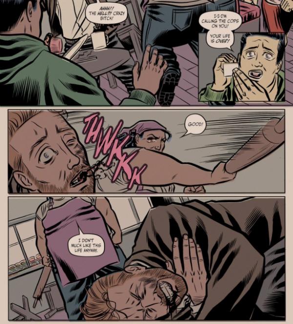 Penny Rolle - Men Suck Read Bitch Planet - Matt Reads Comics