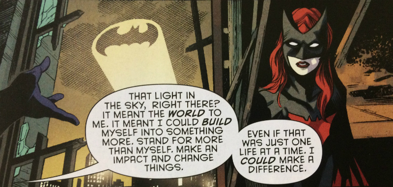That Light in the Sky - What Can You Build From Batman