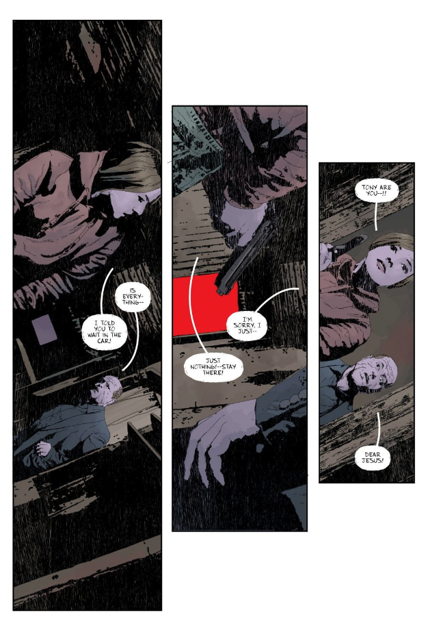 Angled Panels Gideon Falls 4 - Matt Reads Comics