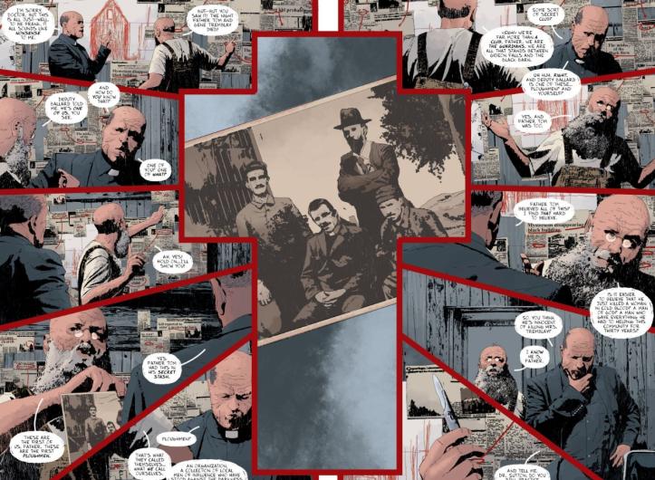 Cross Layout Two Page Spread Gideon Falls 4 - Matt Reads Comics