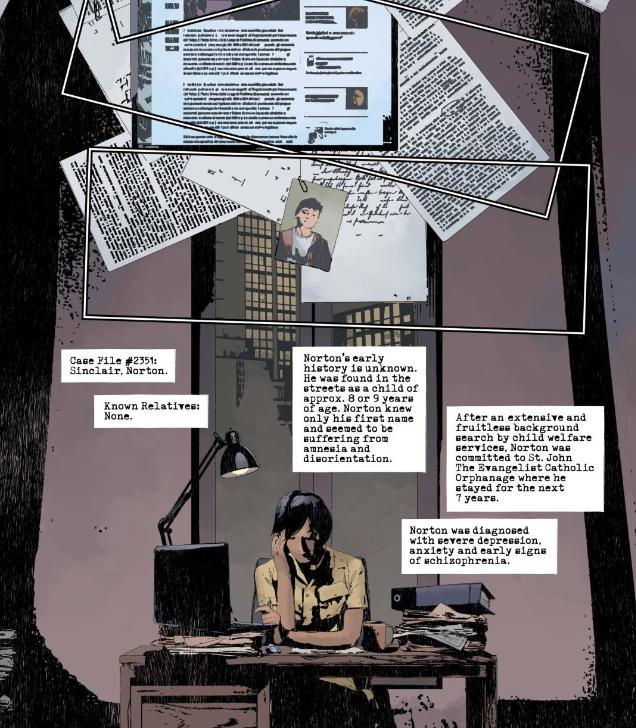 Norton Case File Gideon Falls 4 - Matt Reads Comics