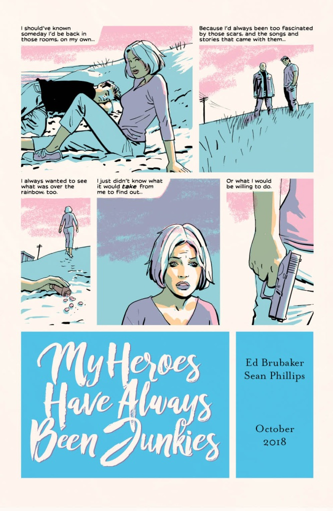 My Heroes Have Always Been Junkies Preview Page - Matt Reads Comics