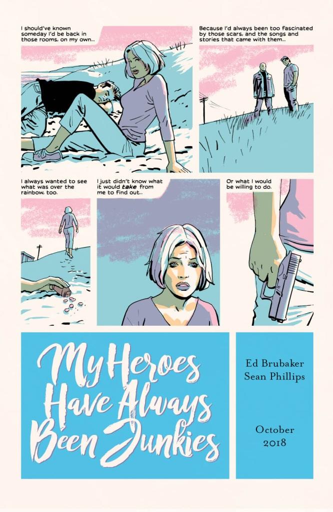 My Heroes Have Always Been Junkies Preview Page - Matt Reads Comics