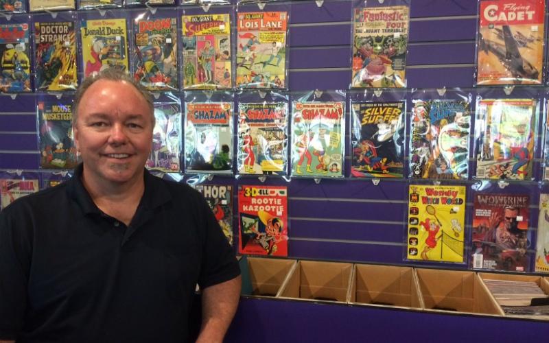 Dave Allread Heroes Comics Fresno - Matt Reads Comics