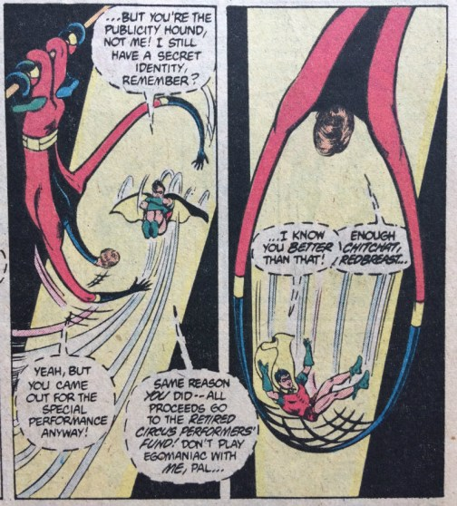 Elongated Man Robin Trapeze - Matt Reads Comics