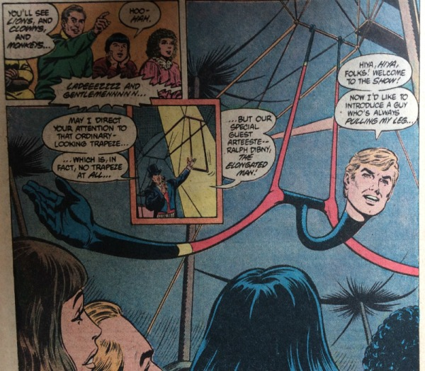 Elongated Man Trapeze - Matt Reads Comics