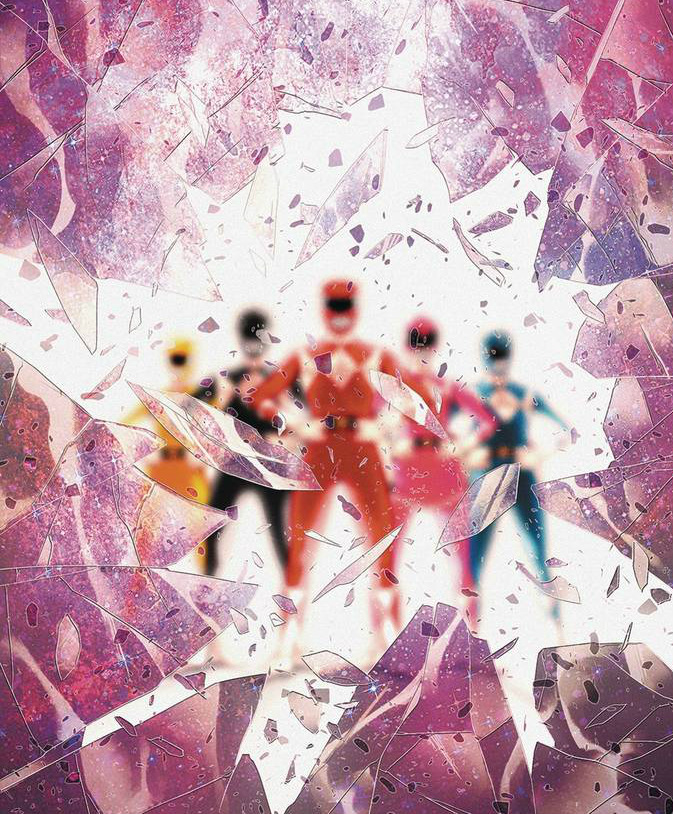 Power Rangers Shattered Grid Special Cover - Matt Reads Comics