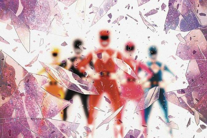 Power Rangers Shattered Grid Special Cover - Matt Reads Comics