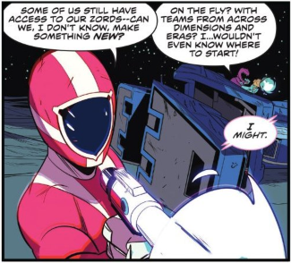 Carter Asks for New Megazord - Power Rangers Shattered Grid - Matt Reads Comics